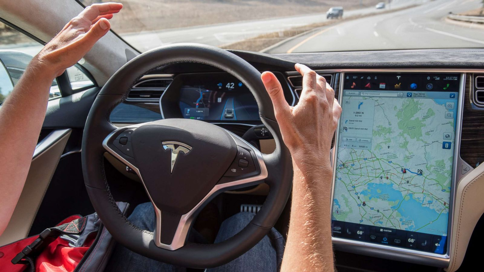 Driverless teslasd