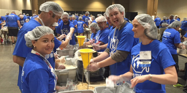 Volunteers at CSCMP's 2016 annual conference