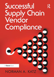 Book cover: Successful Supply Chain Vendor Compliance