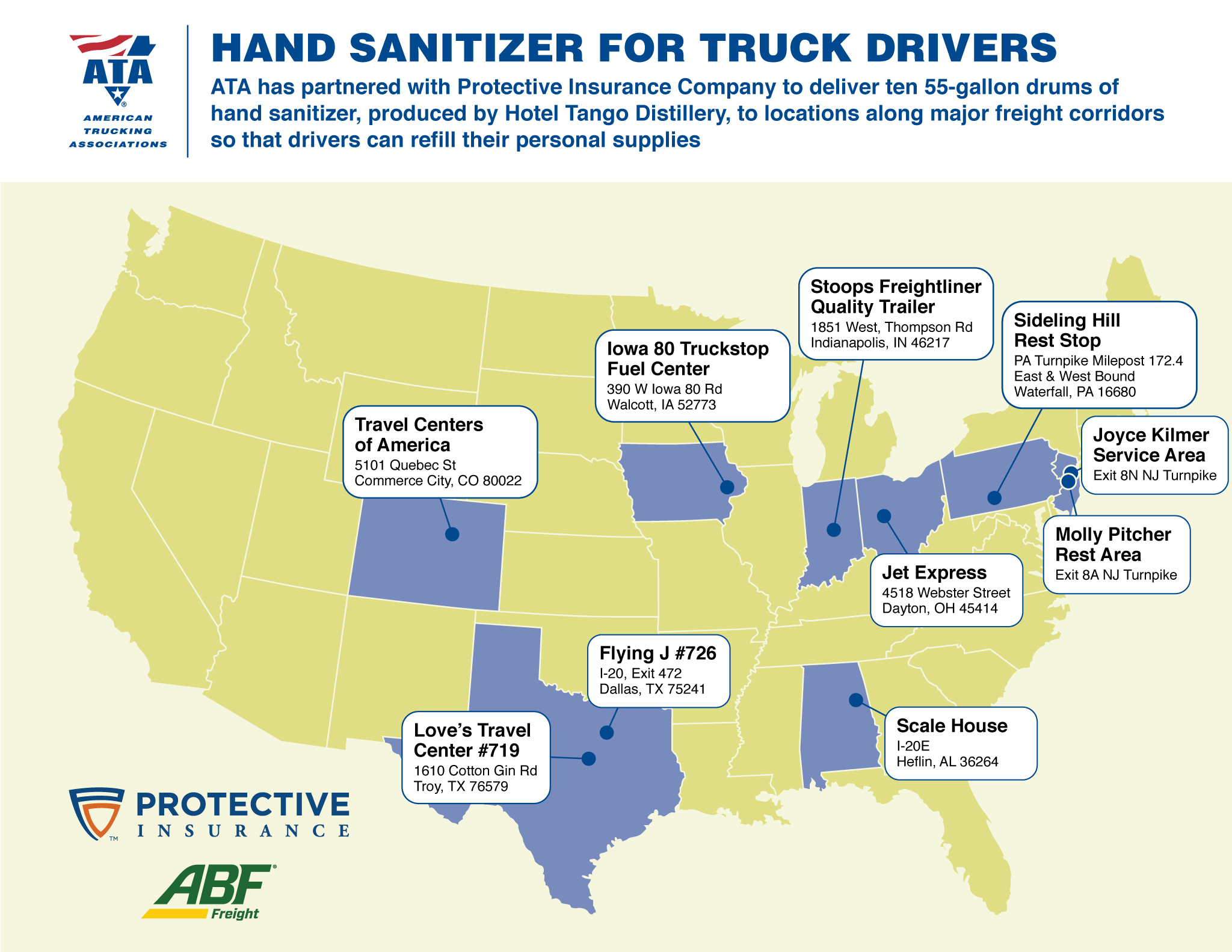 Truckstops sanitizermap upd