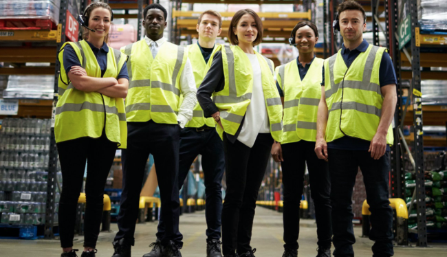 WERC warehouse workers