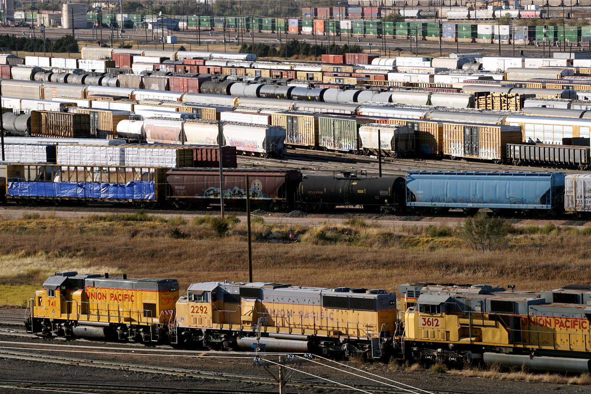 Railroad classification yard 4578535 1920
