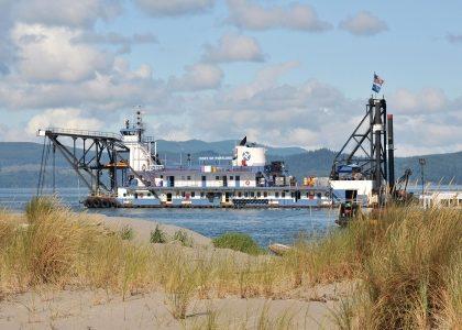harbor dredge