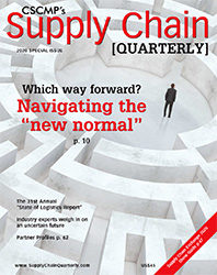 Special Issue 2020: The State of Logistics