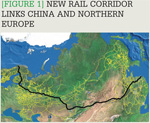 [Figure 1] New rail corridor links China and Northern Europe
