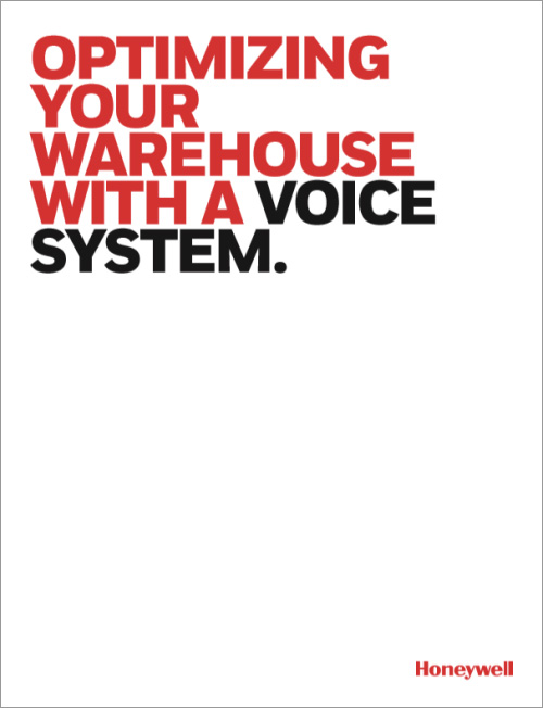 Honeywell optimizing your warehouse with a voice system cover