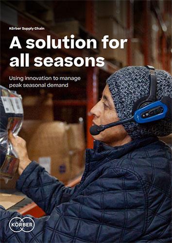 Korber innovation manage peak seasonal demand cover