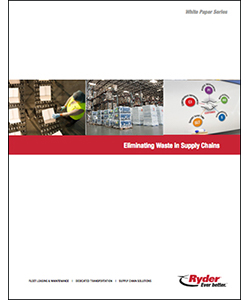 Ryder lean supply chain white paper cover