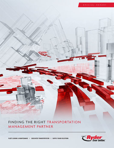 Ryder: Finding the Right Transportation Management Partner