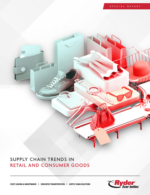 Ryder supply chain trends retail consumer goods cover