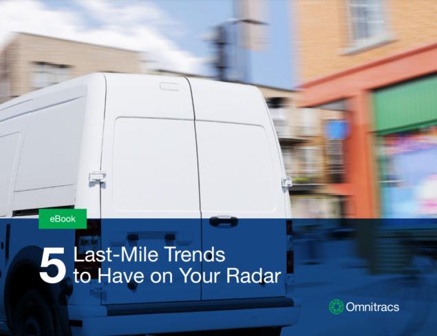 Omnitracs 5 last mile trends on radar cover