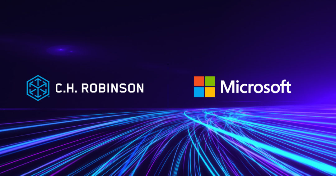 C.H.Robinson partners with Microsoft
