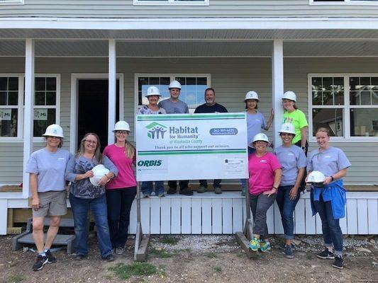 ORBIS Corporation Receives Habitat for Humanity 2020 Housing Champion Award