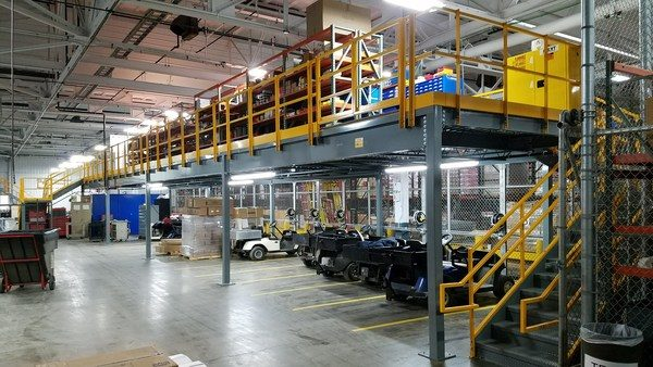 Mezzanines Offer Convenient Storage Space for Growing Small Businesses