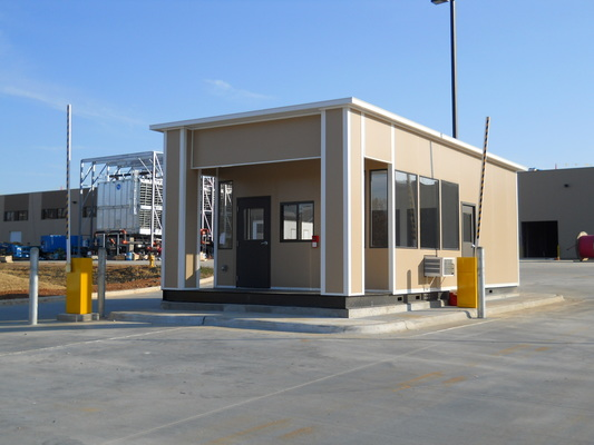 Panel Built Guard Booths Help Keep Security at The Forefront