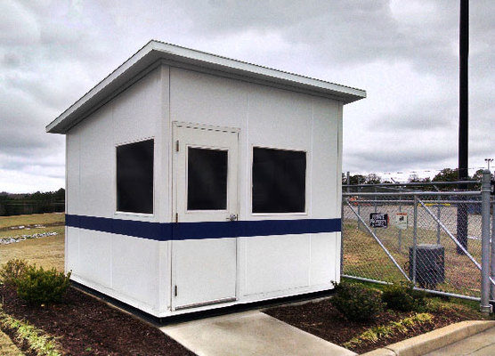 Increasing Security Presence Through Panel Built Security Booths