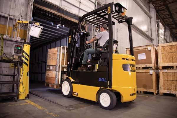 Yale Introduces Cushion Tire Lift Truck with Factory Integrated Lithium-ion Power