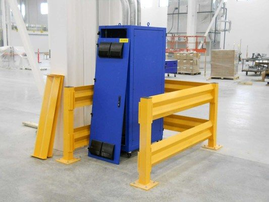 Panel Built Offers Barrier Railing to Help Protect Modular Investment