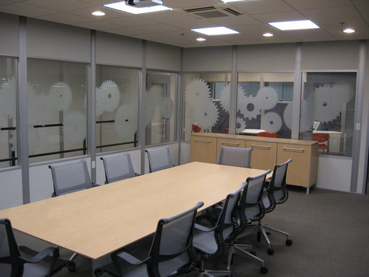 Panel Built Modular Walls Help Perfect Existing Office Space
