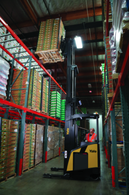 New Narrow Aisle Reach Truck from Yale Wins Product of the Year Award
