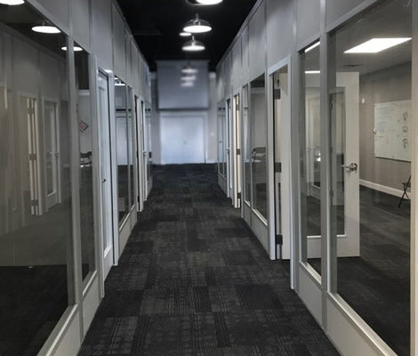 Panel Built Modular Wall Systems Offer An Easy and Flexible Way to Build-Out Open Offices