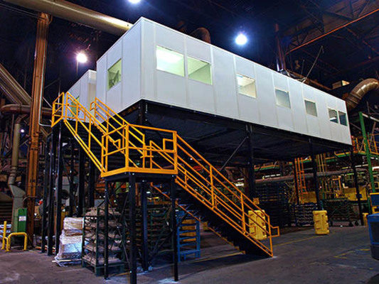 Modular Office Systems Help Warehouses Capitalize On Expensive Commercial Space