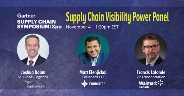FourKites, Walmart Canada and Cardinal Health to Present at Gartner Supply Chain Symposium/Xpo 2020