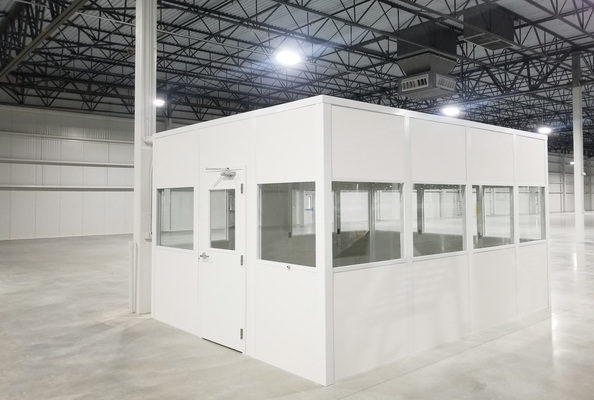 Panel Built Modular Offices Create A Custom, Controlled Workspace in Harsh Environments
