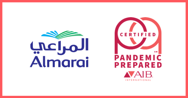 Almarai Company is First in the World to Achieve Pandemic Prepared Certification