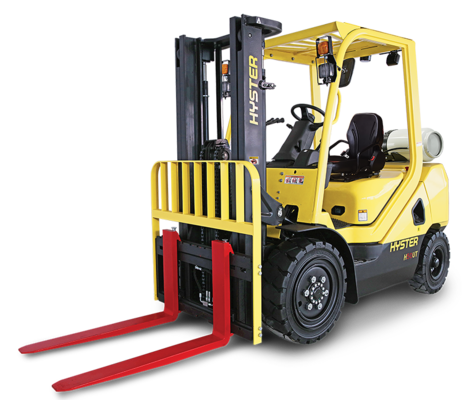 Hyster Launches Practical, Affordable UT Class V Series Forklift