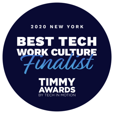 Infragistics Selected Best Tech Work Culture Finalist in Timmy Awards