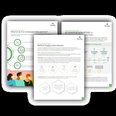 Avetta Publishes E-book to Help Supply Chains Navigate Future COVID-19 Environment