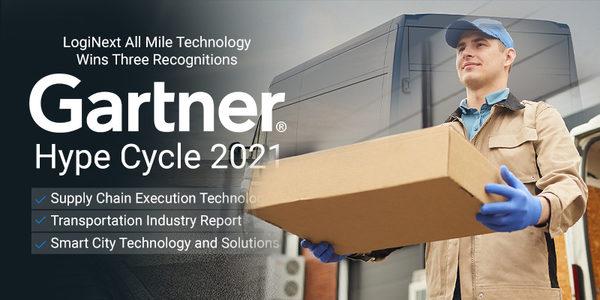 LogiNext Announces Triple Gartner 2021 Recognition for its Last Mile Technology